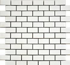 white brick-bond tiles   tile samples   Pinterest   Brick bonds ...