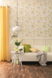 Schöner Wohnen 7 Tapete blau weiß Blumen 959042