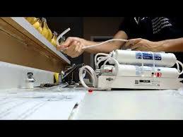 apec countertop ro system installation