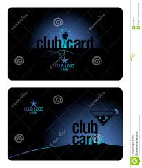 Club Card Design Club Card Design Template Stock Vector Illustration Of Member 9