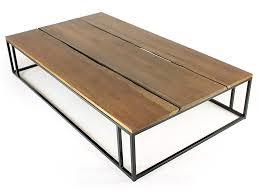 ... Coffee Table, Astonishing Teak Rectangle Farmhouse Metal Coffee Table  Base Design Ideas: Surprising Metal ...