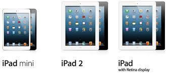 ipad size comparison ipad mini vs ipad 4 vs ipad 2 a detailed comparison redmond pie