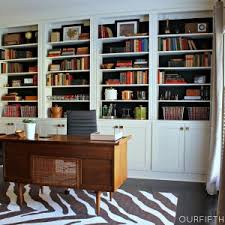 office bookcase with doors. Home Office With Bookcases For Amazing Bookcase Doors
