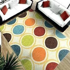red orange rug blue circles rug red area rugs modern area rug green blue red orange