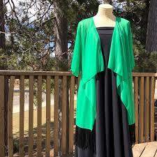 Oversized Lularoe Monroe Kimono Fringe Boutique