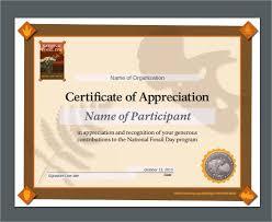 Sample Certificate Of Appreciation Adorable Sample Template For Certificate Of Appreciation Cassifieldsco