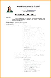 Samples Of Career Objectives For Resumes Resume Template Without Objective Resume Without Objective