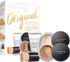 bareminerals original mineral foundation 4 piece get started kit fairly light