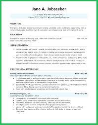 Sample Resume For Nursing Student Emelcotest Com