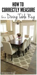 brilliant area rug under kitchen table 33 modern living room design ideas dining room table