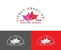 Theatre Company Logo Design Playful Bold Performing Art Logo Design For Little