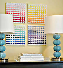 11 this diy wall art idea was done with paint s just by blending diffe