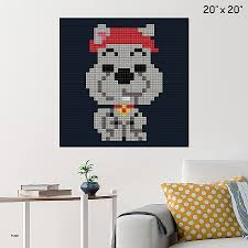 scooby doo wall stickers fresh scooby dum pixel art brik