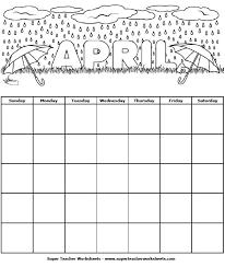 april calendar april calendar