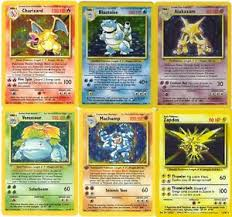 Pokemon Card Printable Rare Holo Shiny Base Set Pokemon Cards All 16 Available Out Of