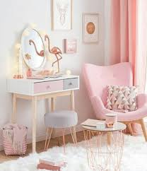 Beautiful Interior Design Bedroom Pink Gold Grey Decor Girls Rose Girl For Impressive