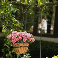 wedding decorative flower basket black
