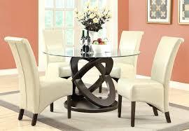 5 piece glass dining table set monarch specialties 5 piece round dining room set in dark espresso crown 5 piece glass top dining table set