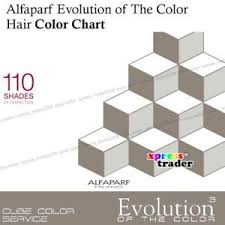 Details About Alfaparf Evolution Of The Color 110 Shades Of Perfection Hair Color Chart Book