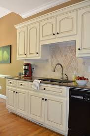 Kitchen Cabinet Resurfacing Kit Beauteous How To Glaze Cabinets At Home With The Barkers