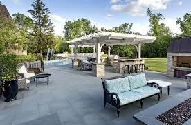 a backyard with the wow factor