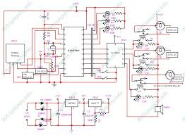 8051 zigbee based home automation system microcontroller circuit diagram for each zone
