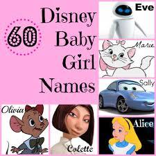 60 baby disney names
