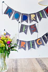 fabric birthday banner pattern diy fabric banner 10