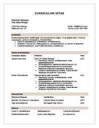 Free Usable Resume Templates Modern Resume Templates 64 Examples Free Download