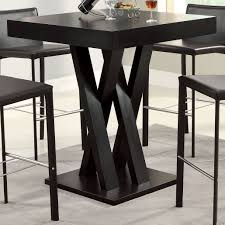square black high gloss finished solid wood thick countertop
