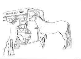 Printable Coloring Pages horse coloring pages to print for free : Realistic Horse Coloring Pages - GetColoringPages.com