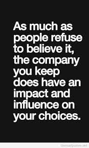 Friends Influence Quote via Relatably.com
