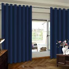 extra wide sliding door curtains room