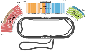 Nascar New Hampshire Motor Speedway Tickets Red Hot Seats