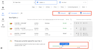 Airline Fare Comparison Chart How To Use Google Flights To Find Cheap Prices 2019