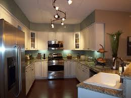 image of ceiling kitchen track lighting