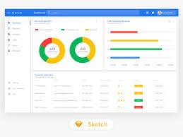 Material Design Desktop Interface