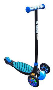 <b>Самокат Y</b>-Volution модель Y <b>Glider Deluxe</b>, черно-синий - купить ...