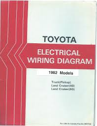 1982 toyota pickup truck electrical wiring diagram repair manual 1982 toyota pickup truck electrical wiring diagram repair manual
