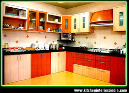 In Making Of Aluminium Kitchen And Wooden Kitchen With Glasswork