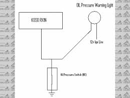 oil pressure warning light oil pressure wiring