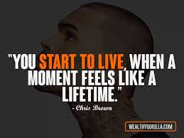 Chris Brown Quotes Beauteous 48 Inspirational Chris Brown Quotes Wealthy Gorilla