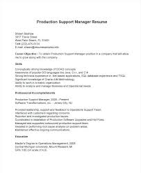 support manager resumes technical support manager job description mollysherman