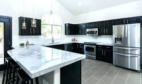 black kitchen cabinets with white marble countertops. Fine Kitchen White Kitchen Cabinets Marble Countertops Black And  With  Inside Black Kitchen Cabinets With White Marble Countertops C