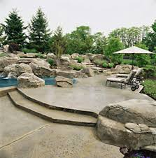 simple patio designs concrete. An Inexpensive Patio Can Be Made Of Concrete As Shown In This Photo By Scofield. I Think You Would Agree That It Is Very Unique! Simple Designs J