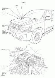 I have nissan titan my power mirrors and seat here is drawing showing the underhood