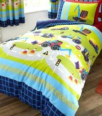 tractor bedding set diggers and trucks single red sets crib
