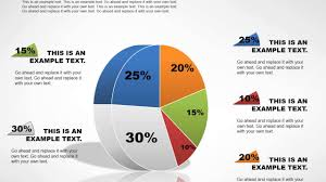 3d Pie Collection Powerpoint Charts