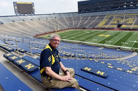 Michigan Stadium Seating Chart Row Numbers Where Is The Best Seat In The Big House See Views From