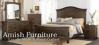 amish furniture locally made and hand crafted